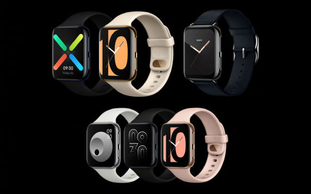 this photo shows Oppo's First Android Smartwatch that duplicated apple's idea - Ravzgadget