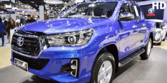 A Leak Shows Brand New Face Lift For The Toyota Hilux 2021 - Ravzgadget