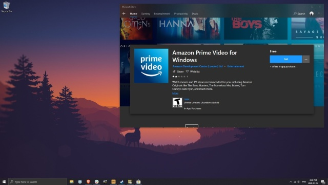 Amazon Windows10 Prime Video App Allows Viewing Offline On PC - Ravzgadget