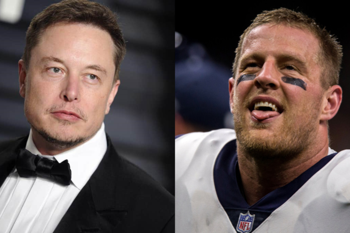 Elon Musk And J.J Watt Had A Time On Twitter, See How It Escalated - Ravzgadget