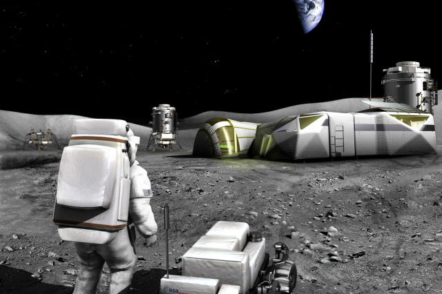 NASA-Backed Project Could Fix 3D Printing For Moon Bases Automatically - Ravzgadget