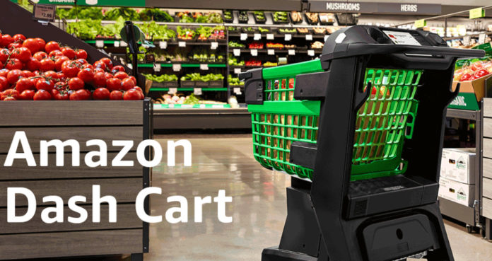 Amazon Smart Shopping Cart Will Let You Pay Without Visiting A Cashier - Ravzgadget