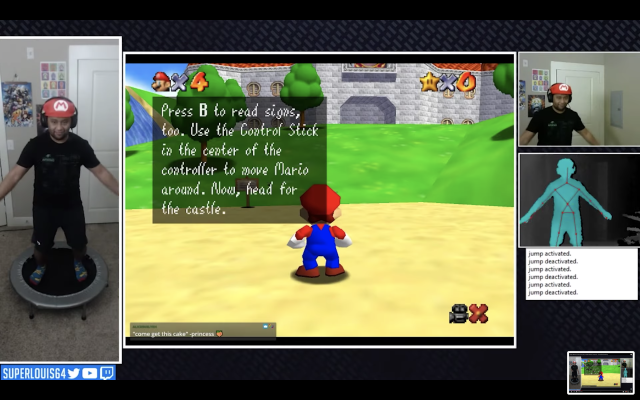 A Kinect Mod For Super Mario 64 Assures Fun During Lockdown - Ravzgadget