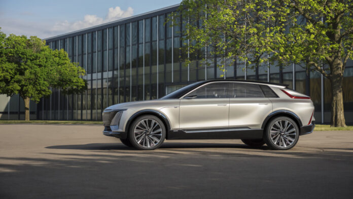 Cadillac Joins The EV Market With Its Amazing 'Lyriq' Crossover - Ravzgadget