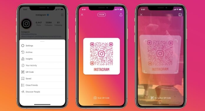 Instagram Adds New QR Codes So People Can Go Directly To Your Profile - Ravzgadget