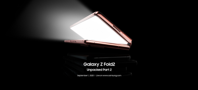 Samsung Said It Will Give The Galaxy Z Fold 2 A Standard Unveiling 1st Sept. - Ravzgadget