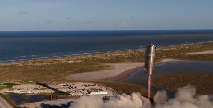 SpaceX Starship Prototype Flies A Record Hundreds Of Feet - Ravzgadget
