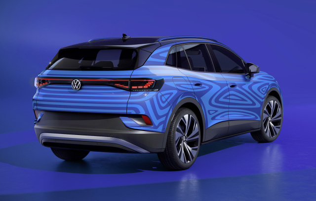 Volkswagen Has Started Producing Its ID.4 EV Before Its Official Reveal - Ravzgadget