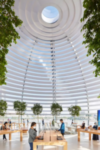 Apple Shows Interior Photos Of Its Amazing Floating Singapore Store - Ravzgadget