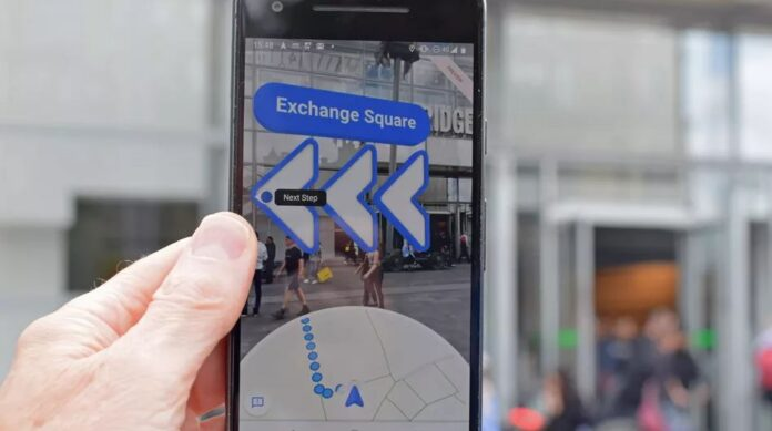 iPhone Users Can Now Use Live View In Google Maps For Location Sharing - Ravzgadget