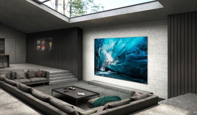 Samsung Unveils A 110-Inch Version Of Its MicroLED Wall TV - Ravzgadget