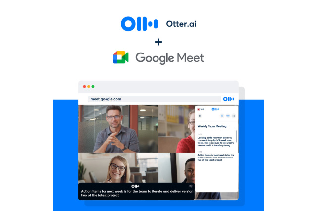 Otter Launches Live Transcription For Google Meet - Ravzgadget