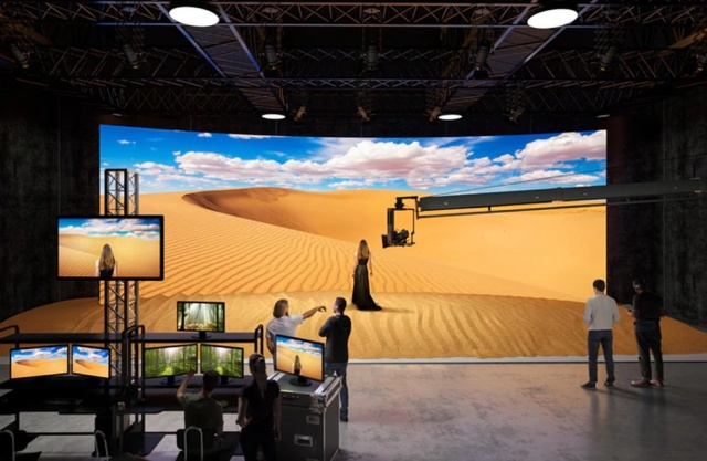 Sony Finds A Home For Crystal LED Screens, Virtual Set Backgrounds - Ravzgadget