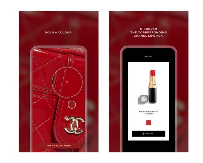 Chanel's AI Lipscanner App Will Find Lipstick In Any Shade - Ravzgadget