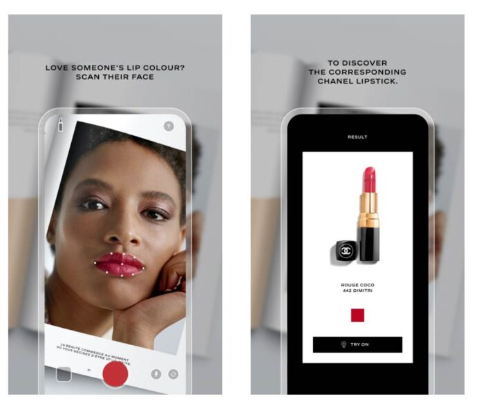 Chanel AI Lipscanner App Will Find Lipstick In Any Shade - Ravzgadget