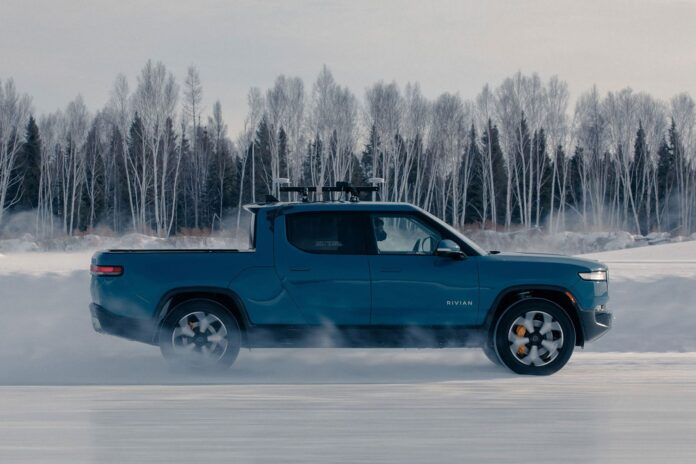 Watch Rivian Test Its R1T Electric Truck In Extreme Cold Weather - Ravzgadget