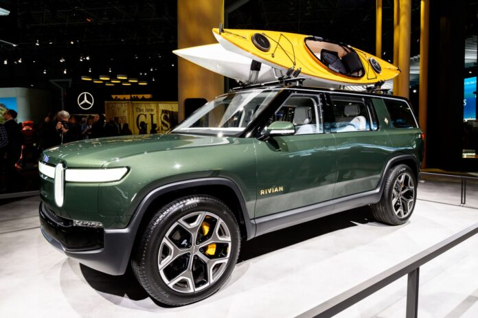 Rivian Plans A Network Of 10K EV Chargers In North America By 2023 - Ravzgadget