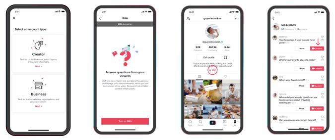 TikTok's Q&A Feature Is Now Open To All Creators - Ravzgadget