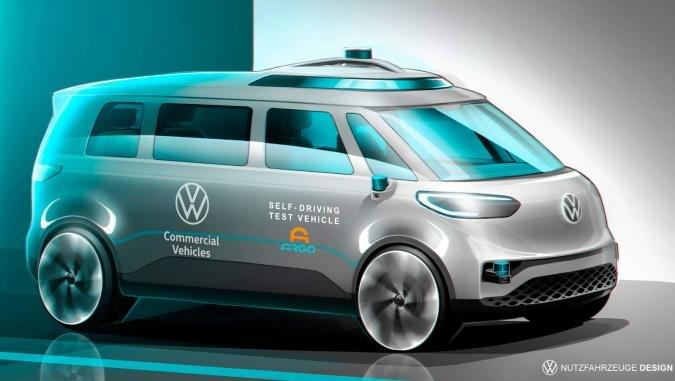 Volkswagen Targets Fully Autonomous Electric Taxi Vans By 2025 - Ravzgadget